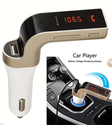 CAR G7 Bluetooth FM Modulator With USB Port & Mem Card Slot