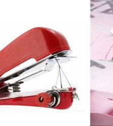 Mini Hand-Held Sewing Machine