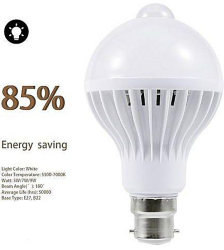 Motion Sensor Auto-Light LED Bulb - 7W