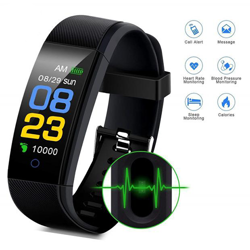 Smart Bracelet Band Heart Rate & Blood Pressure