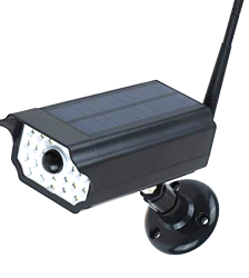 Solar Wall Light Imitation Dummy Security Camera