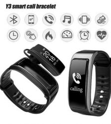 Y3 Bluetooth Smart Talk Band Bracelet